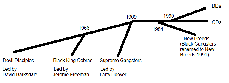 History of Chicago's Black Gangs