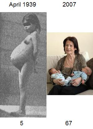 Youngest mother - oldest mother. Oh, and since this image is significant to ...